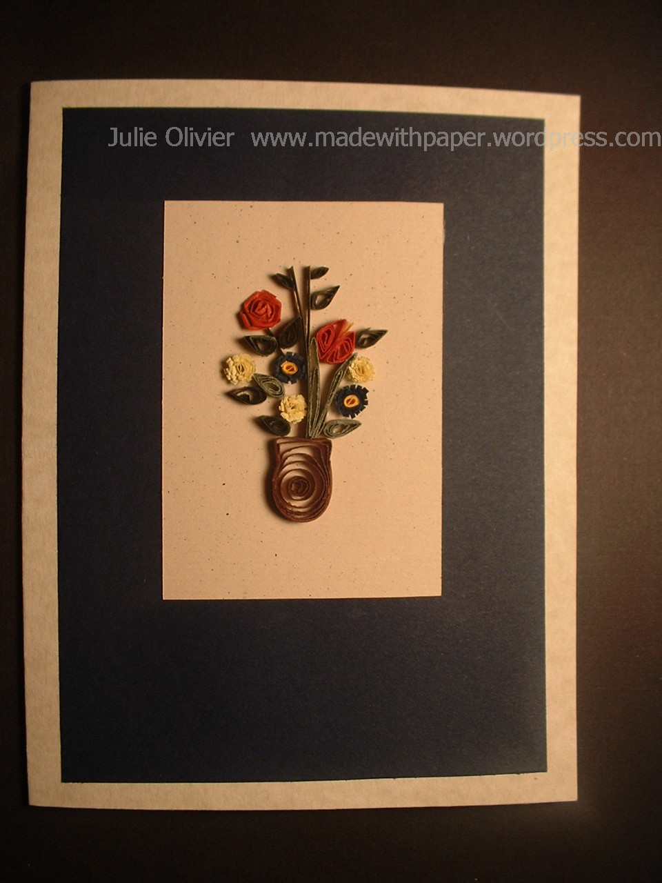 quilling cards made with paper