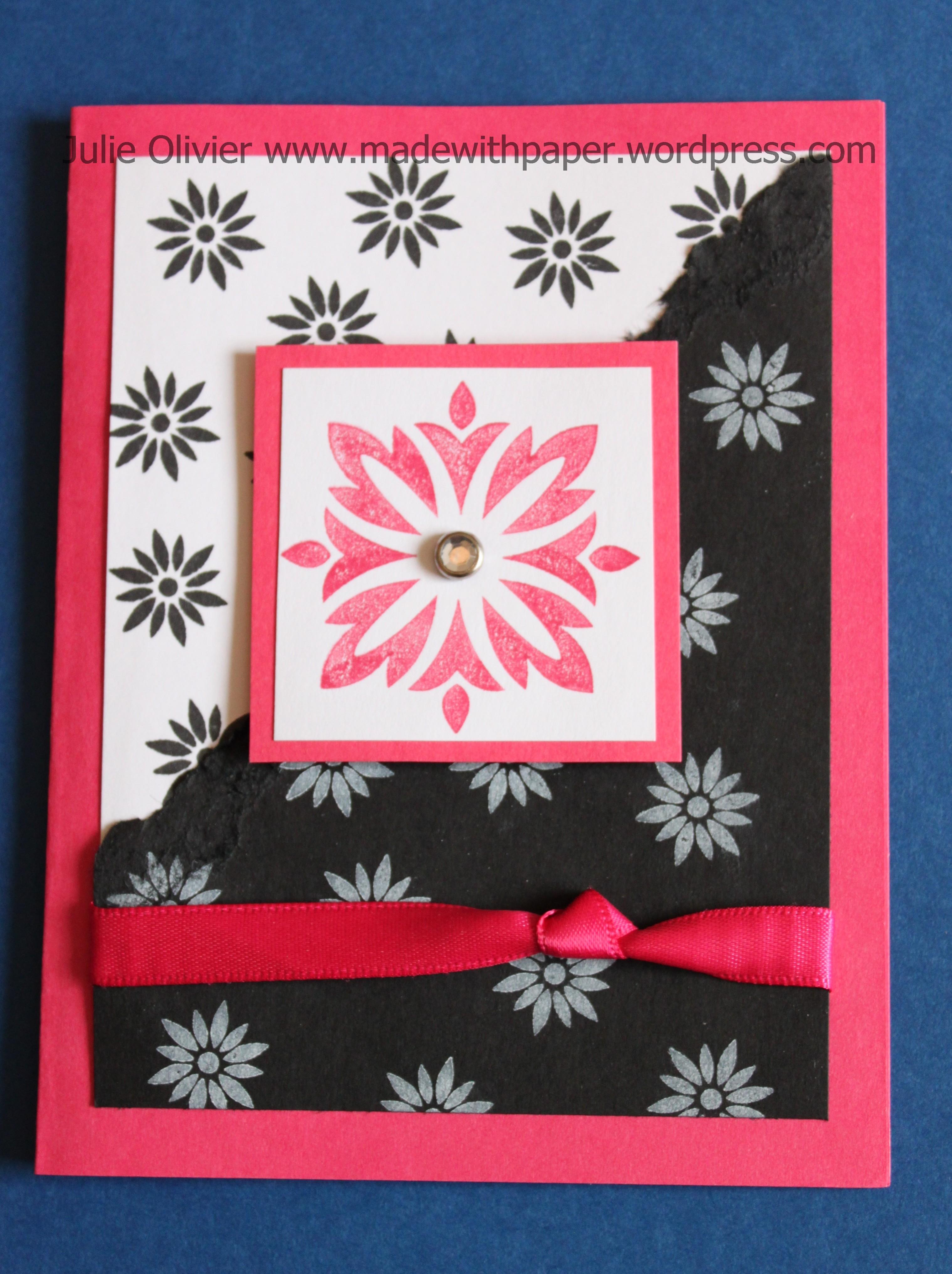 Baroque motifs rose et noir - Chambre rose et noir baroque ...