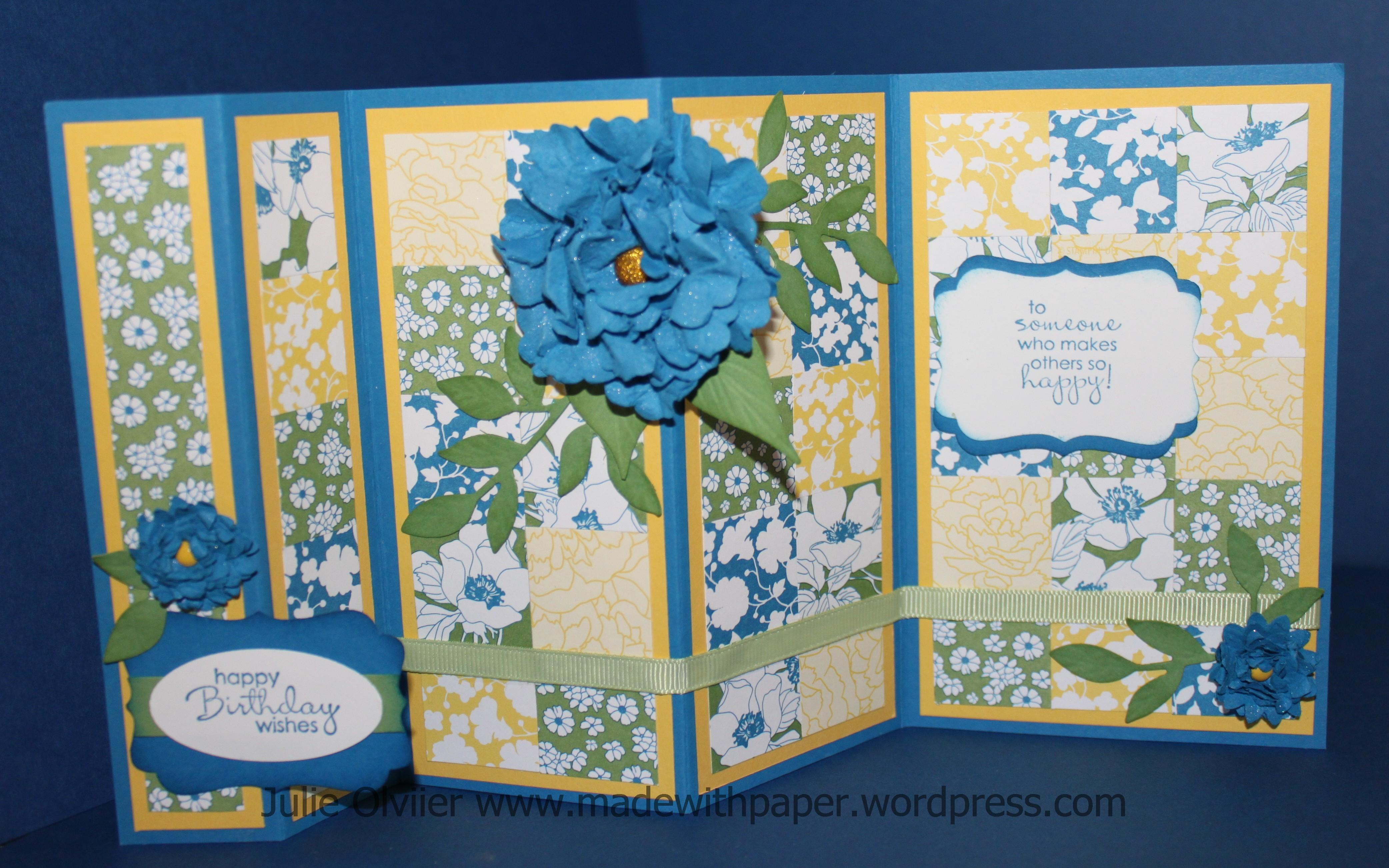 Trifold card – Tri Fold Card