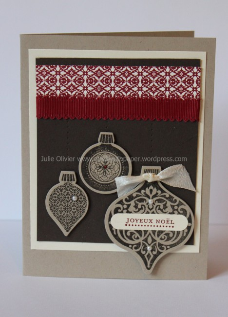 Ornament Keepsakes espresso