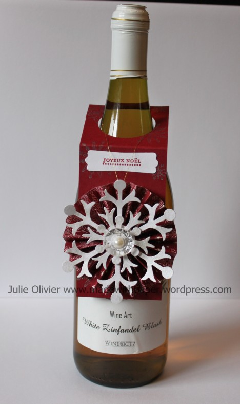 ornament wine bottle