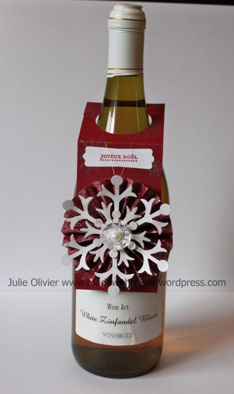 ornament wine bottle