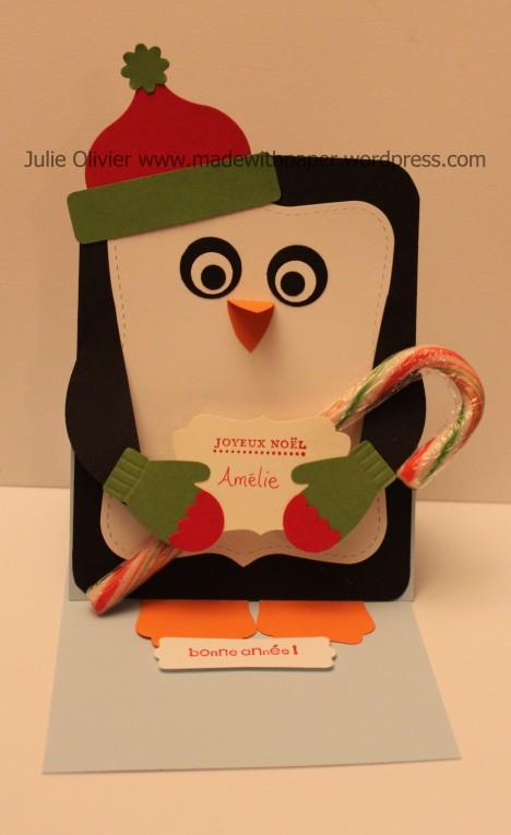 pingouin debout