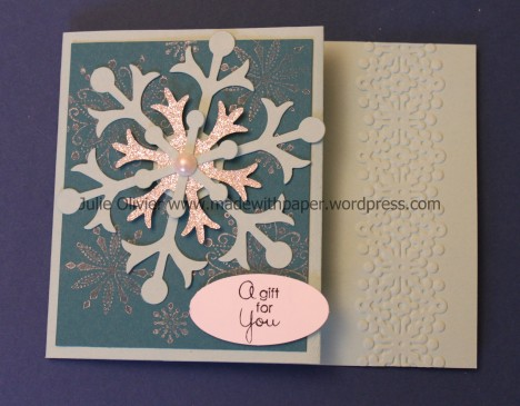 snow flurry gift card