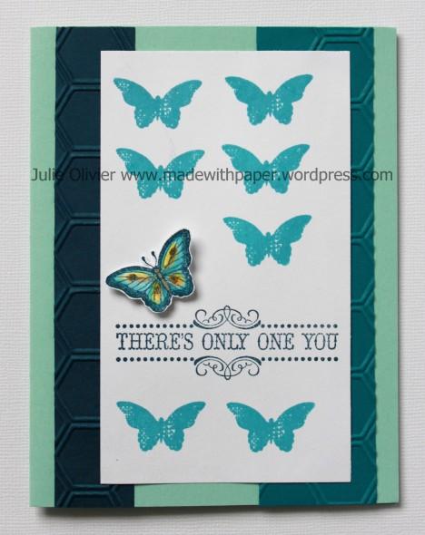 Vintage Verse butterfly