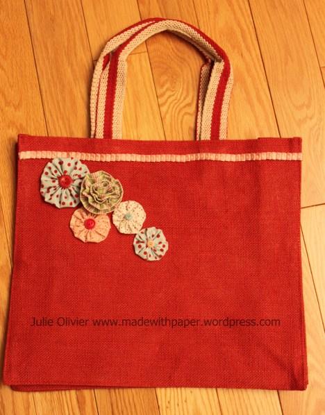 hostess bag red