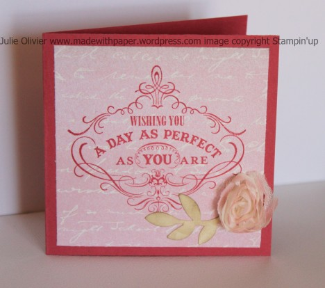 Mother gift bag card