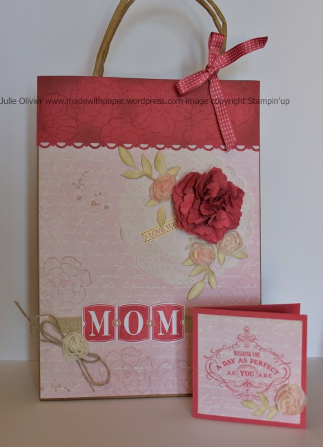 Mother gift bag