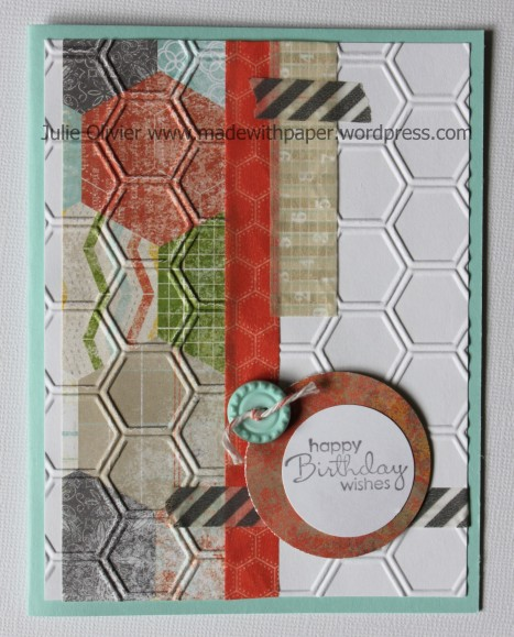 washi tape hexagone