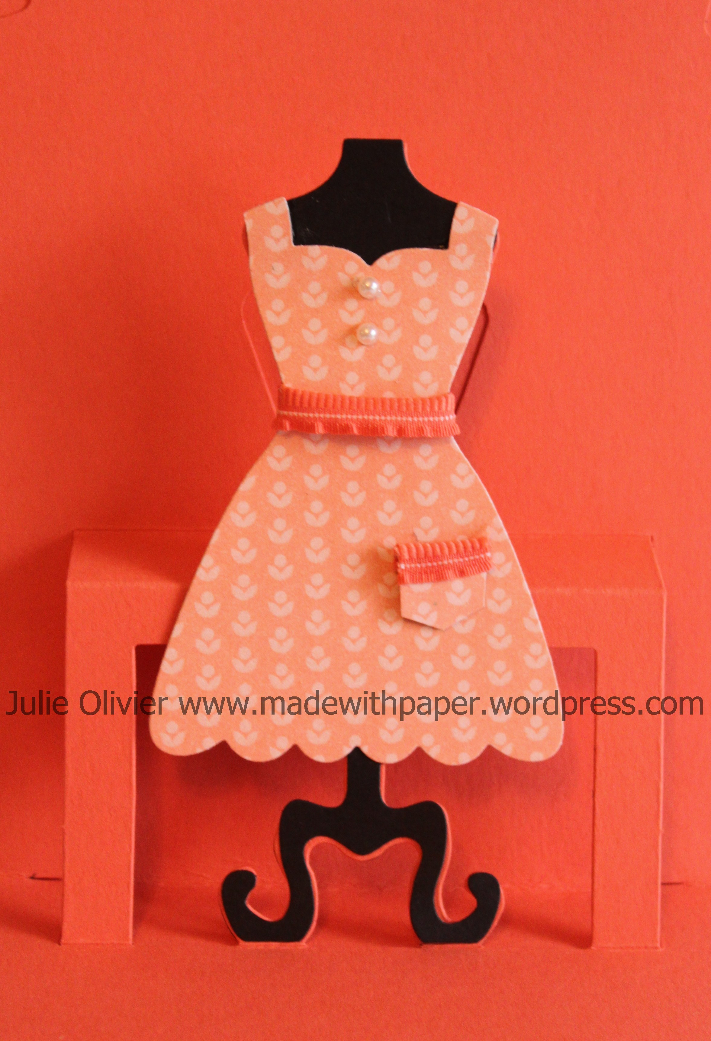 Dress Up Framelits Dies Made With Paper