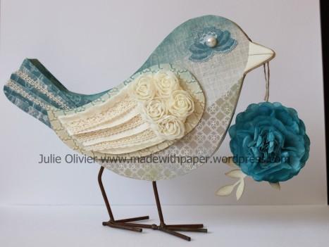 oiseau et fleur bleue droite