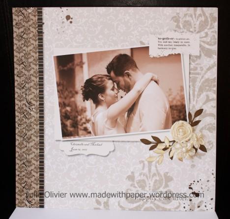 Scrapbook Christelle et Mike