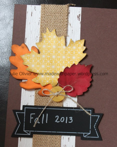 Tablescape scrapbook details