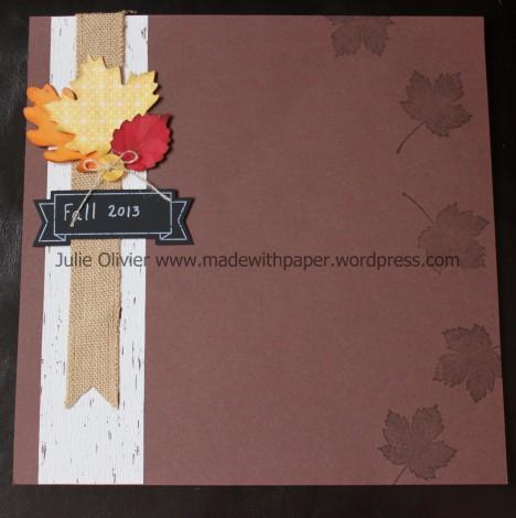 tablescape scrapbook