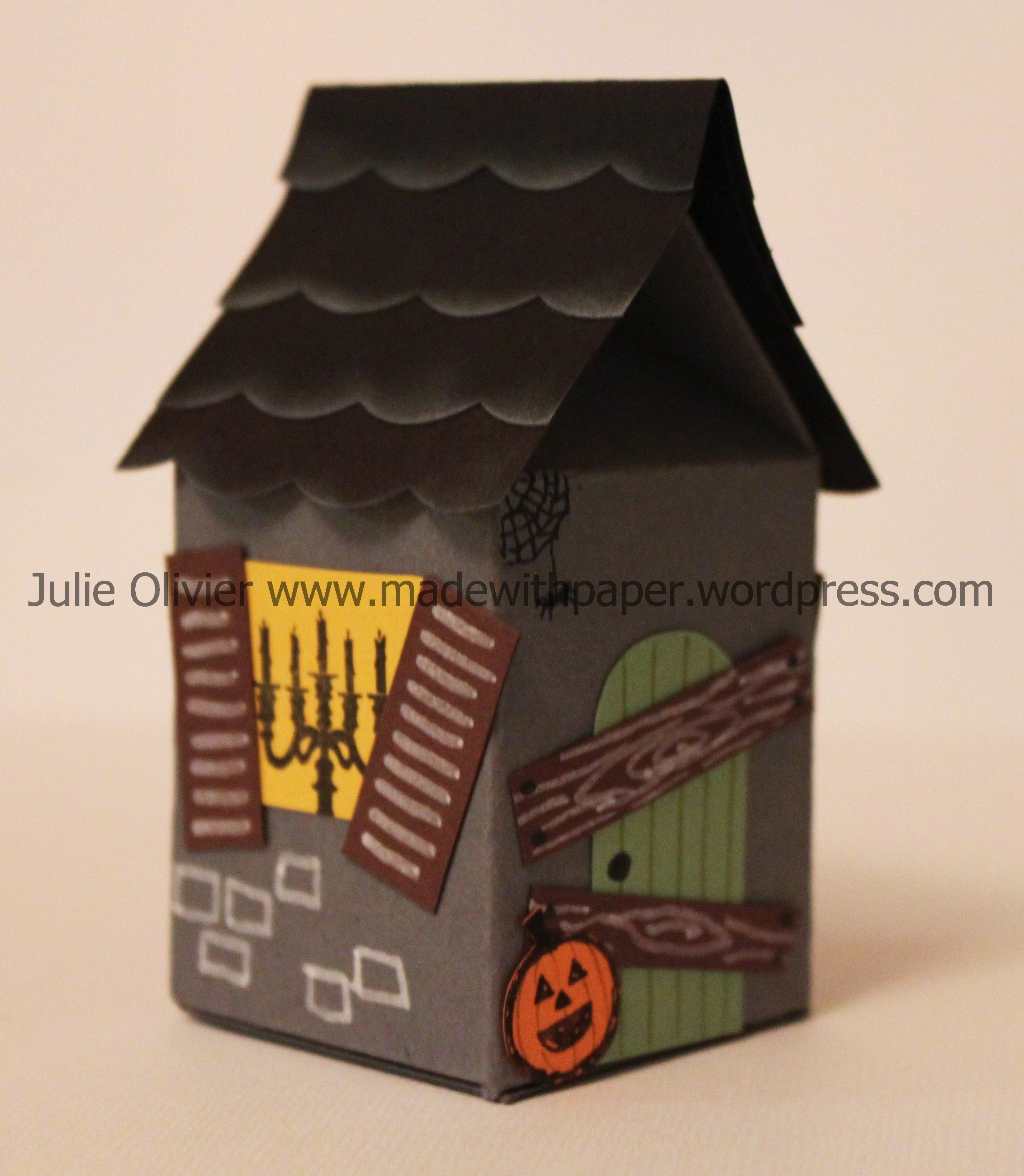 maison hantee - Milk Carton Halloween Ghosts