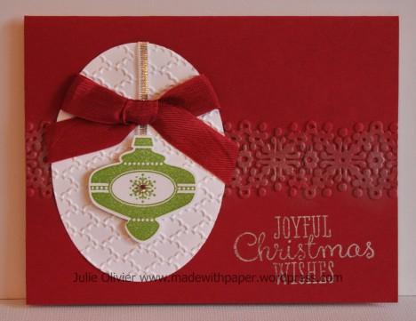 Christmas collectible Cherry Cobbler