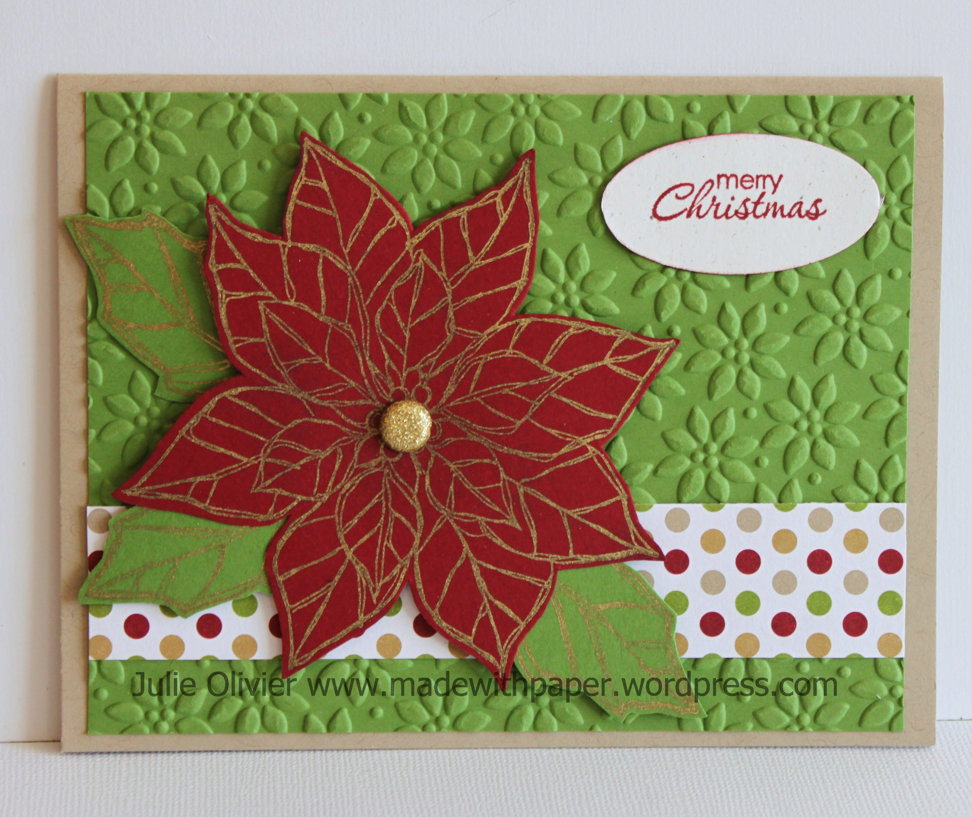 Joyful Christmas | Made with paper