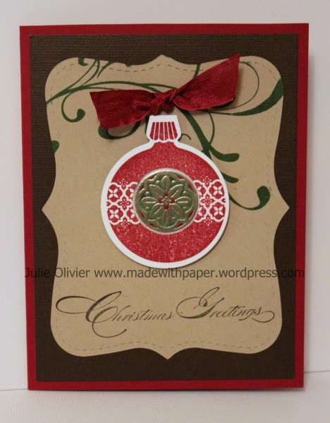 ornament keepsake stained glass center