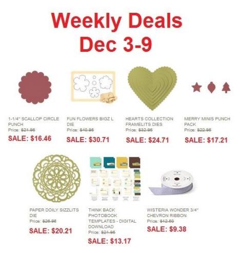 Special Week Dec3-Dec9