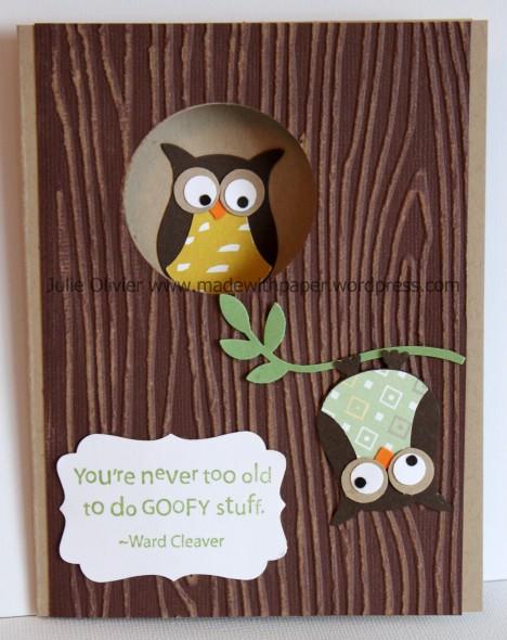 Owl Goofy Pascal