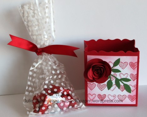Valentine Treat box and bag