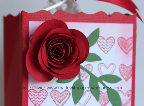 Valentine Treat box rose