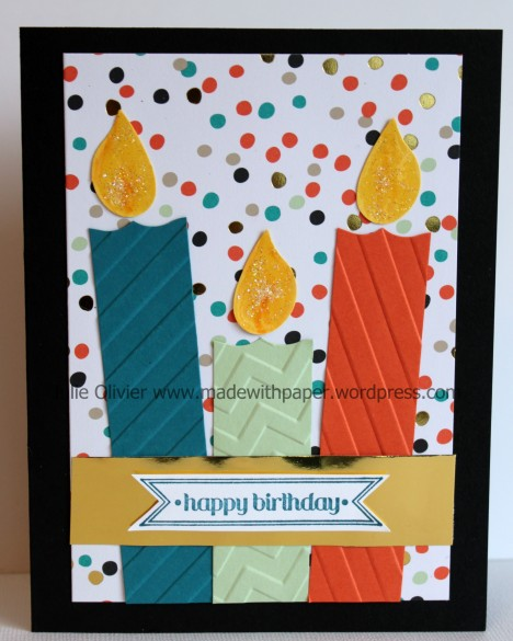 Good as Gold birthday candles