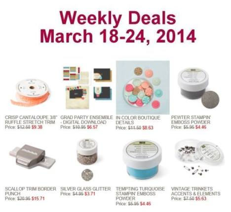 Special week March18-24