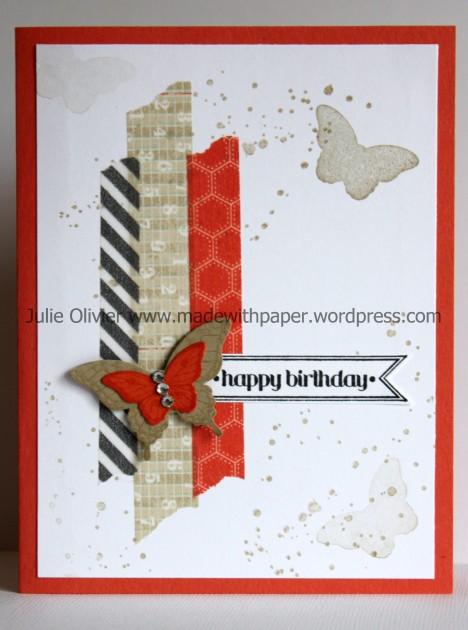 Papillon Potpourri Washi Tape