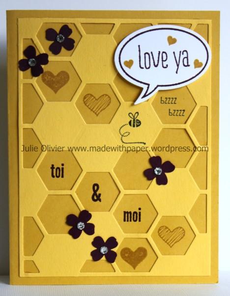 hexagon hives anniversary