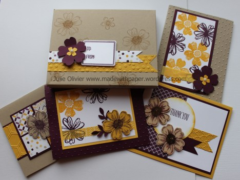 Flower shop card kit
