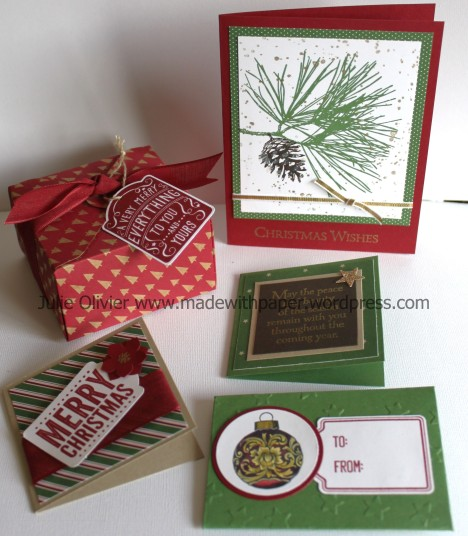 Ornamental pine set1