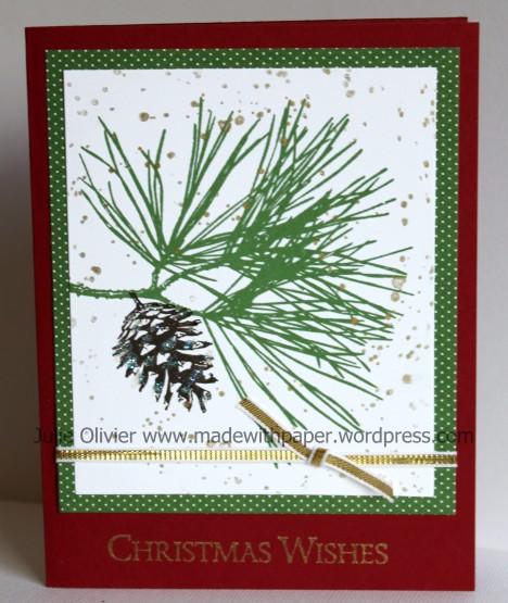 Pine card