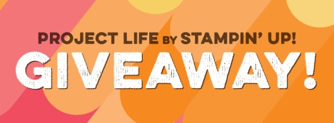 Project Life Giveway