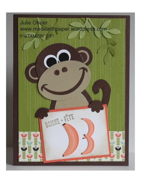 Monkey punch art Julie Olivier