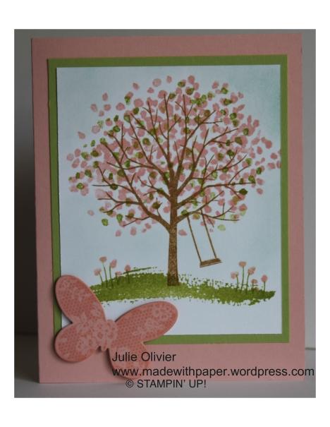 Sheltering Tree Spring Julie Olivier