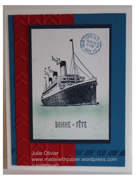 Traveler Boat Julie Olivier