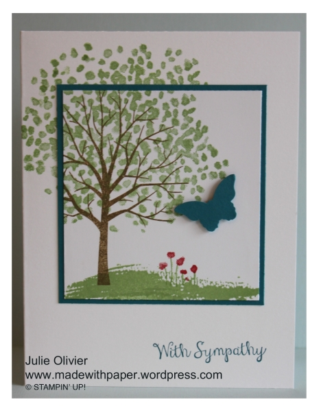 Sheltering Tree Sympathy Julie Olivier
